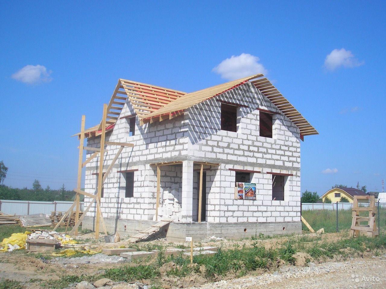 Всё о строительстве частного дома из газобетона своими руками 816